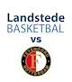 Landstede Basketbal - Feyenoord